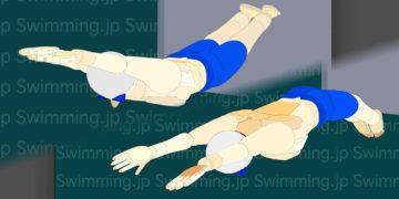 水泳 平泳ぎのひと掻きひと蹴りでバタフライが上手くなる!