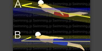 水泳 バタフライ トップスイマーと中級者の泳ぎ方の違い