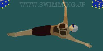 背泳ぎを綺麗に泳ぐためのキックと呼吸の注意点(初心者〜中級者)