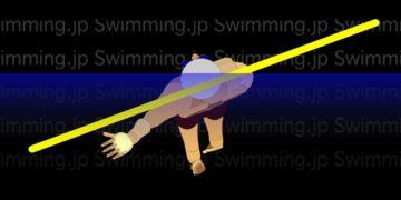 背泳ぎ ストロークのイメージと練習ドリル