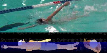 クロール 楽に泳ぐための息継ぎの形とは?(初級者向け)