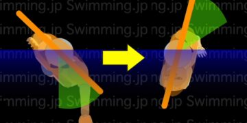 クロール 楽に泳ぐための息継ぎのタイミング(初級者向け)